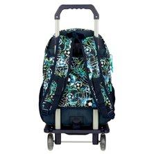 Maleta correpasillos 2 ruedas multidireccionales Circle Mickey Roja