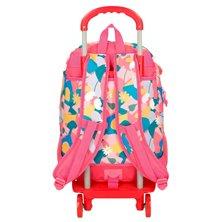 Maleta correpasillos 2 ruedas multidireccionales Spiderman Geo roja