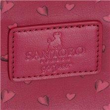 Maleta mediana Minnie rígida 68cm Sunny Day  Flores Azul