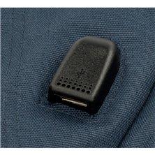 Maleta de cabina Mickey letras rígida 55cm roja