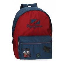 Maleta de cabina Mickey letras rígida 55cm negra