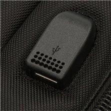 Maleta mediana Mickey letras rígida 68cm roja