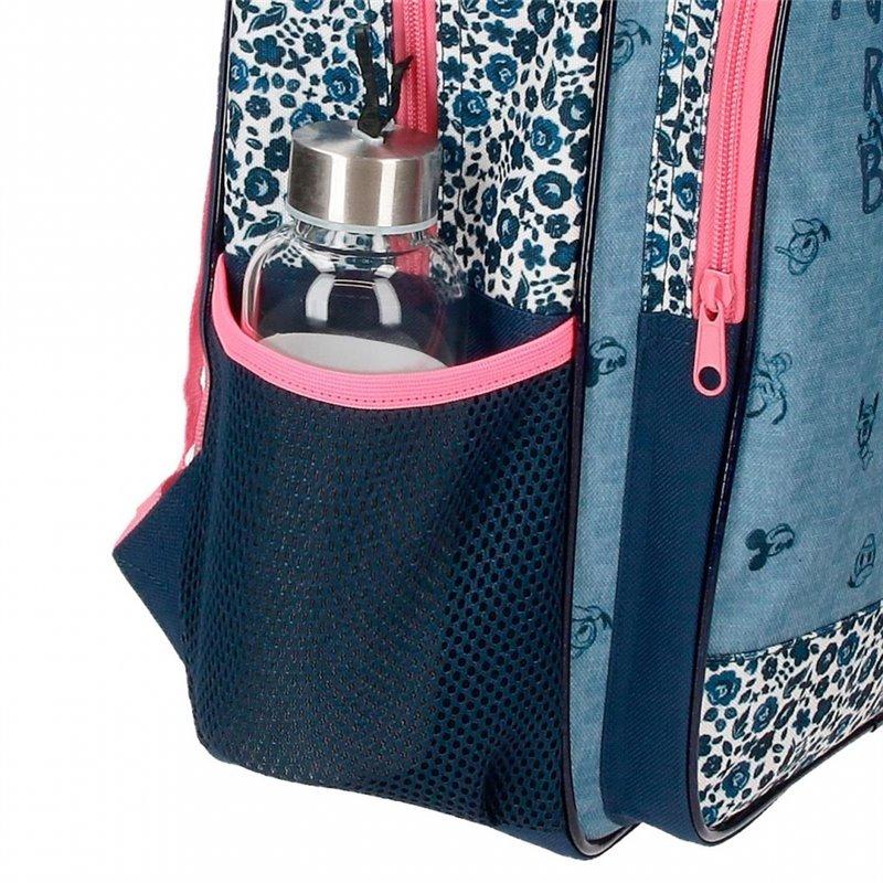 Maleta mediana Mickey Mouse rígida 68cm azul