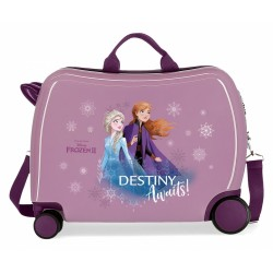 Maleta infantil Frozen Destiny Awaits con ruedas multidireccionales