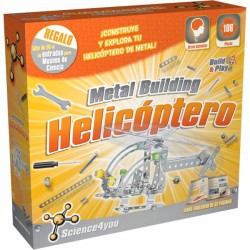 metal building helicoptero