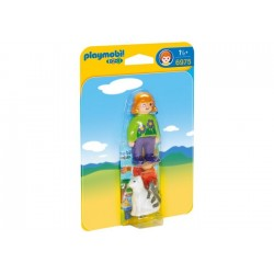 PLAYMOBIL 1.2.3 MUJER CON...
