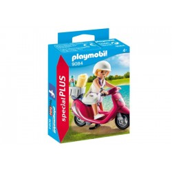 PLAYMOBIL MUJER CON SCOOTER...