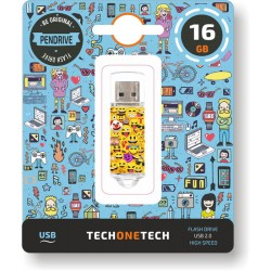 MEMORIA USB 16 GB PENDRIVE...
