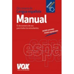 Diccionario manual lengua...