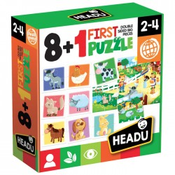 JUEGO HEADU FIRST PUZZLE 8 + 1