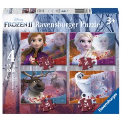 PUZZLE FROZEN II 4 IN A BOX...