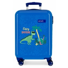maleta  ABS 55CM.4R.ENSO DINO