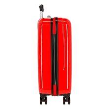 Maleta de cabina Spiderman Street rígida en rojo